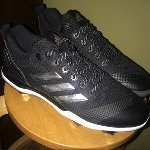 Men's adidas baseball metal cleats size 12